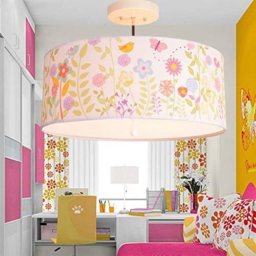 BCX Light- Fashion Creative, Prismáticos de Dibujos Animados, BedrooHabitación para niños 'S' Lámpara de Techo con lámpara de Techo, Iluminación Interior,A