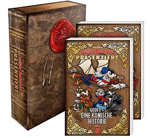 Lustiges Taschenbuch präsentiert Goofy - Eine komische Historie Box: Band 5 und 6 im Schuber: Band 1 und 2 im Schuber