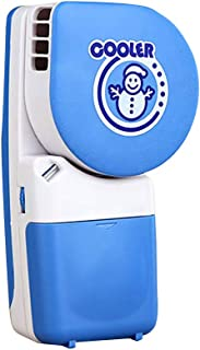 Aijoo ?? 携帯用USBの微笑のエアコンファン旅行手持ち型の再充電可能な冷却ファン