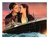 Titanic - Leonardo DiCaprio & Kate Winslet Signiert