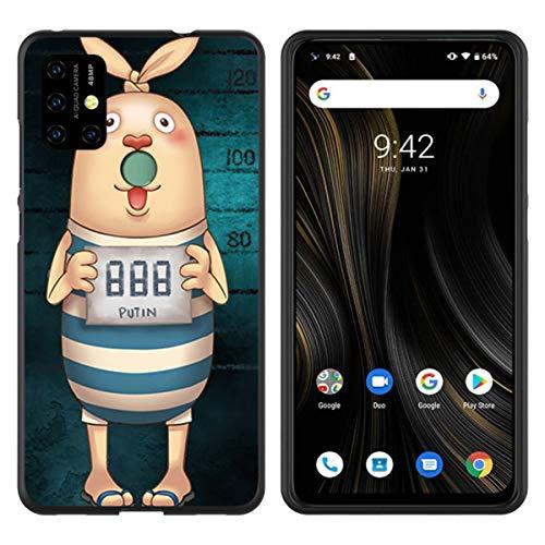 ZhuoFan Cover Nokia 6.2/7.2, Ultra Slim Custodia Silicone TPU Morbido Nero con Disegni 3D Cartoon Pattern Antiurto Bumper Phone Case per Nokia 6.2/7.2 Smartphone (Carina)
