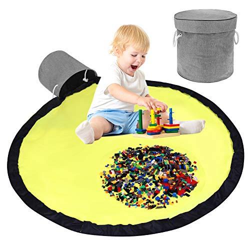 didatecar Kinder Aufräumsack mit Drawstring Spieldecke Spielzeug Speicher Tasche Aufbewahrung Beutel Spielzeugaufbewahrung