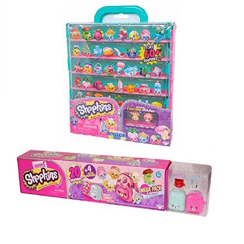 Shopkins Season 5 Mega Pack with Collector's Case Bundle