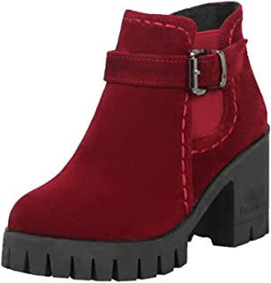 HYIRI Originals Point Toe High-Heeled Boots, Women Autumn Winter Fitted Women Single Shoes