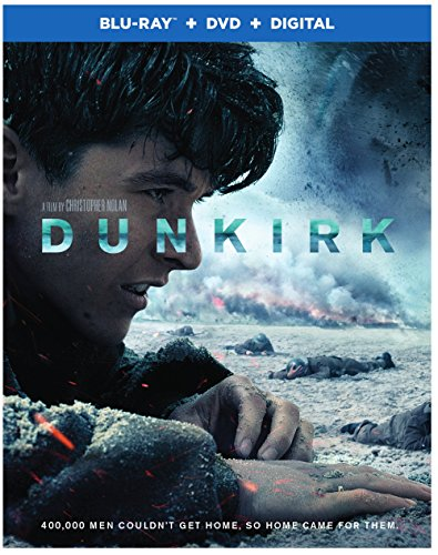 %90 OFF! Warner Home Video Dunkirk (2017) (Blu-ray + DVD + Digital)
