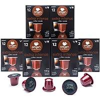 120 Cápsulas Nespresso Compatibles con Cafetera Nespresso - Cafe Extra Intense