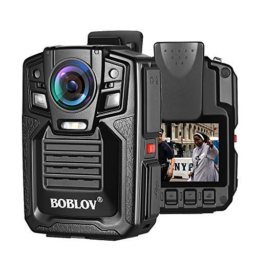 BOBLOV HD66 Body Worn Camera IP67 Waterproof 1296P Wearable Camera Audio & Video Recorder 170° Wide...