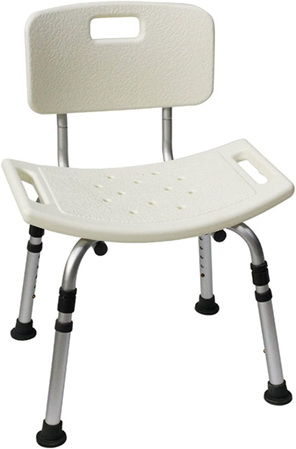 Bathroom Chair Old Man Shower Chair Disabled Bath Chair Pregnant Woman Shower Chair Aluminum Alloy Non-Slip Bathroom Bath Stool Shower Chair Loading Weight 130kg