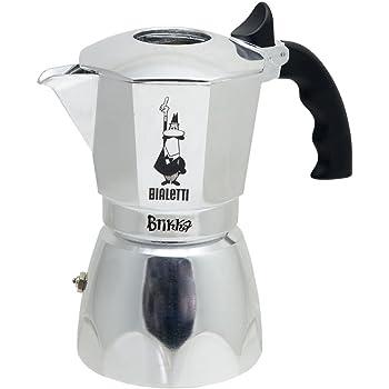Bialetti Brikka Elite, Plata - Cafetera Italiana: Amazon.es: Hogar