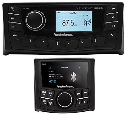 "Rockford Fosgate PMX-5CAN 2.7"" Marine Bluetooth Receiver+Remote w/Display"