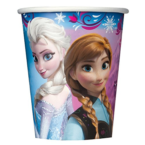 9oz Disney Frozen Paper Cups 8ct