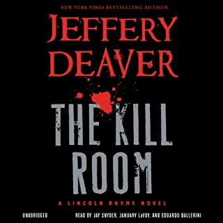 The Kill Room audiobook cover art