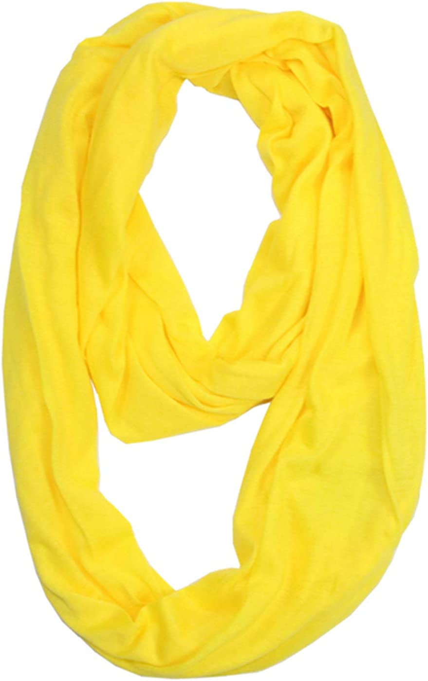 Women Scarves Solid Color infinity scarf Fashion Lightweight Travel Scarf Circle Loop Scarves