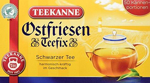 Teekanne Ostfriesen-Teefix, 50 Beutel Kännchenportion, 3er Pack (3 x 140 g)