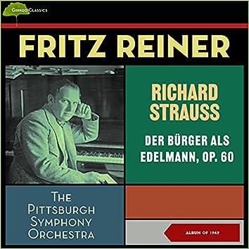 Richard Strauss: Der Bürger Als Edelmann, Op. 60 (Album of 1947)