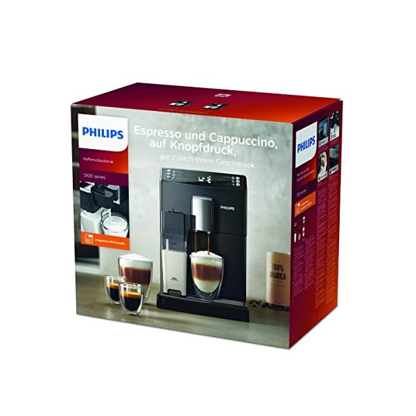 Philips 3100 series EP3550/00 – Cafetera (Independiente, Máquina