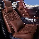 ZJIAWEI Asiento de coche cubierta, impermeable antideslizante durable revestimiento de asientos Protector de la estera del coche, compatible La mayoría de los coches, Automóvil, SUV todo terreno vehíc