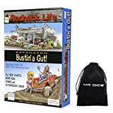 Redneck Life Expansion: Bustin' A Gut! Board Game Bundle with Drawstring Bag