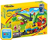 PLAYMOBIL 1.2.3 Mi Primer Tren, Color carbón (70179)