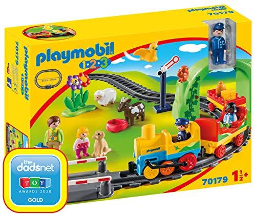 Playmobil: 1.2.3 Playset Mi Primer Tren