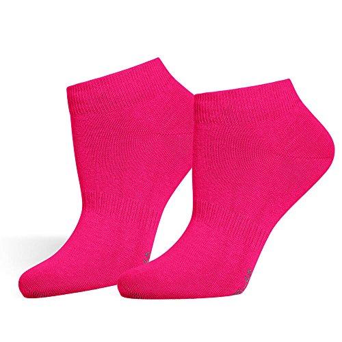 Safersox Sneaker Socken Pink, 43-46