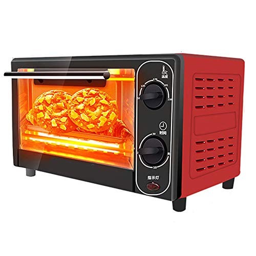 Elektrische oven, 1500W 12L huishoudelijk mini brood bakken, machine intelligente timing bakken, thuis, leven, keuken broodrooster
