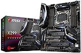 MSI Performance Gaming Intel X299 LGA 2066 DDR4 USB 3.1 SLI ATX Motherboard (X299 Gaming PRO Carbon)