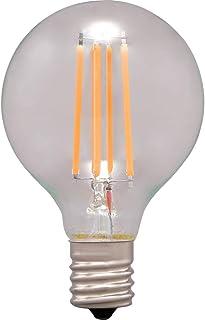 アイリスオーヤマ LEDフィラメント電球 ミニボール球 E17 40W相当 440lm 電球色相当 LDG4L-G-E17-FC LDG4L-G-E17-FC