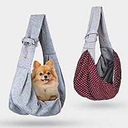 powerful Primebabe carry bags for dogs and cats – reversible carry bags for pets – soft bags and shopping bags…