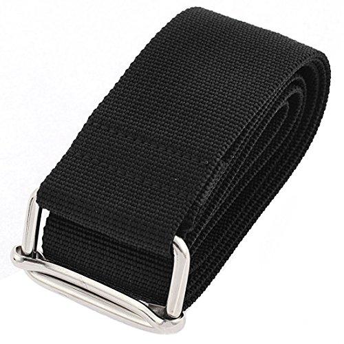 uxcell Polypropylene Adjustable Luggage Suitcase Strap Belt 1m w Metal Buckle