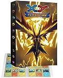 Álbum archivador portatarjetas compatible con tarjetas Pokemon V, archivador portátil para tarjetas coleccionables, 24 páginas con capacidad para 432 tarjetas (432P-7)