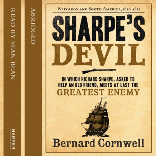 Sharpe's Devil audiobook cover art