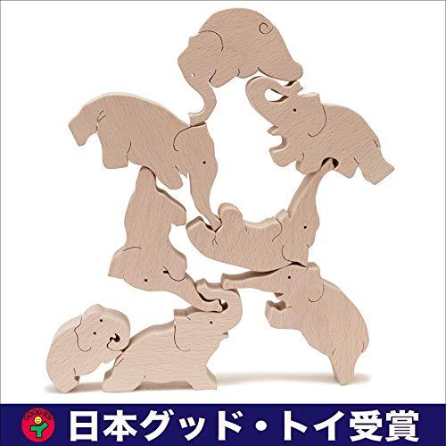 ▶︎象のサーカス おもしろ積み木 ( 遊びながら創造性を育みます。世界まる見え特捜部で放映され話題になりま...