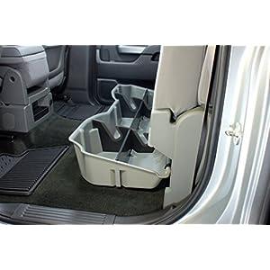 DU-HA Under Seat Storage Fits 14 thru 18 Chevrolet & GMC Silverado & Sierra Light Duty Crew Cab & 15 thru 19 Heavy Duty Crew Cab Part#10300