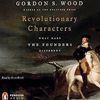 Revolutionary Characters audiobook cover art