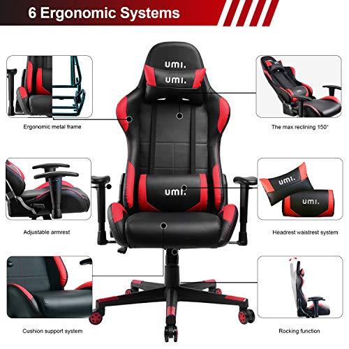 Umi Essentials Gaming Stuhl PC Racing Bild 4*