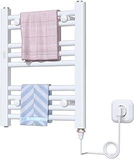 Toallero electrico calefactado Toallero Inteligente for el hogar Toallero Calentador de Secado Radiador Trapezoidal for baño Superficie de rociado No se oxida