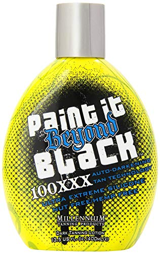 Millenium Tanning Products Paint It Beyond Black Millenium, 13.5-Ounce, 100xxx