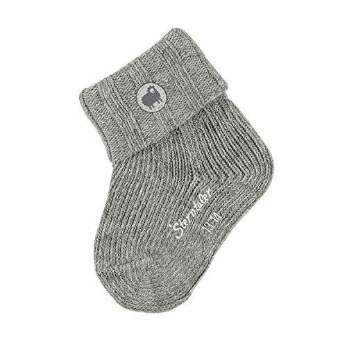 Sterntaler Baby-Jungen Söckchen Socks, Silber Mel, 18