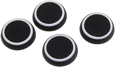 Xiton Thumbsticks Silicone Joystick Tappi di Copertura per PS3 / PS4 / Xbox One/Xbox 360 Wireless Controller 2 Pair/Bianco...