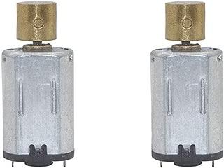 Jiayouy M20 DC Vibration Motor 12V 110RPM Powerful Small Electric Motor Micro Vibrating Motor 2PCS