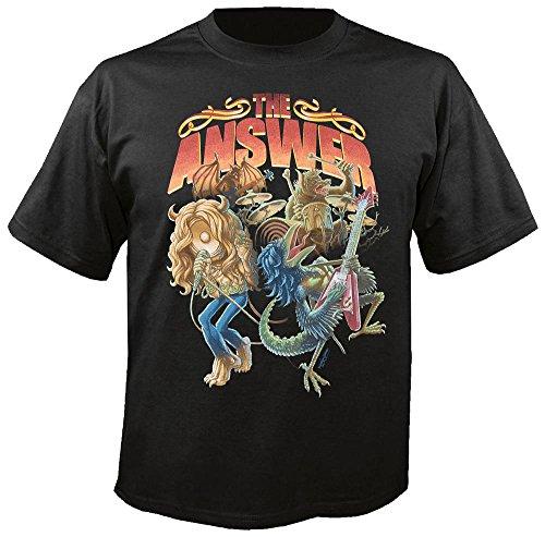 THE ANSWER - Raise a little Hell - T-Shirt Größe M