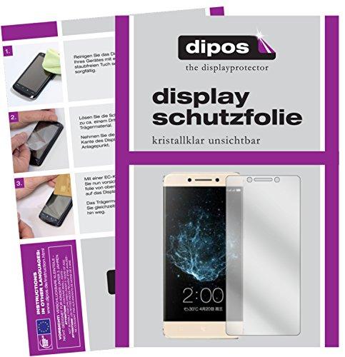 dipos I 2X Schutzfolie klar kompatibel mit LeEco Le Pro 3 Elite Folie Bildschirmschutzfolie