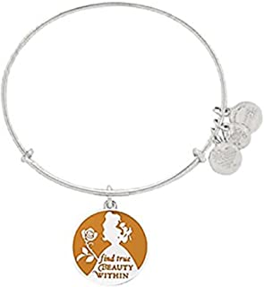 Alex and Ani Disney Parks Beauty & The Beast Princess Belle Enamel Find True Beauty Within