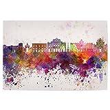 artboxONE Poster 120x80 cm Städte Catania Skyline in