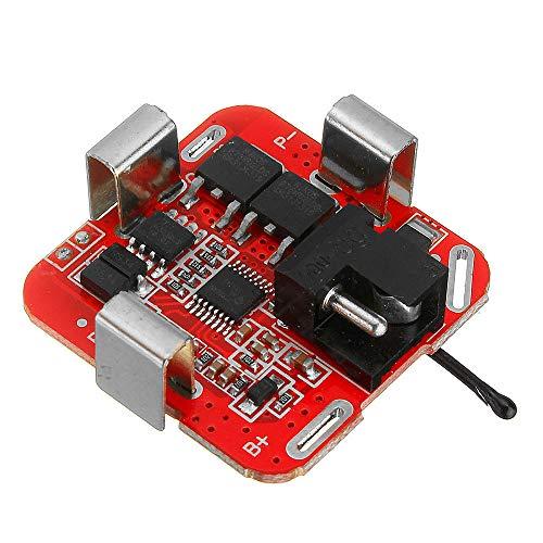 Módulo electrónico 4S 14.8V 16.8V Tablero de protección de batería de litio para herramientas eléctricas Taladro 3pcs rectos Equipo electrónico de alta precisión