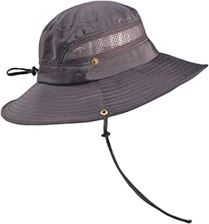 Sentao Sun Hat UV Protection Bucket Hat Summer Hats Beach Hat Foldable Fishing Hat with Breathable Mesh and Adjustable Chi...