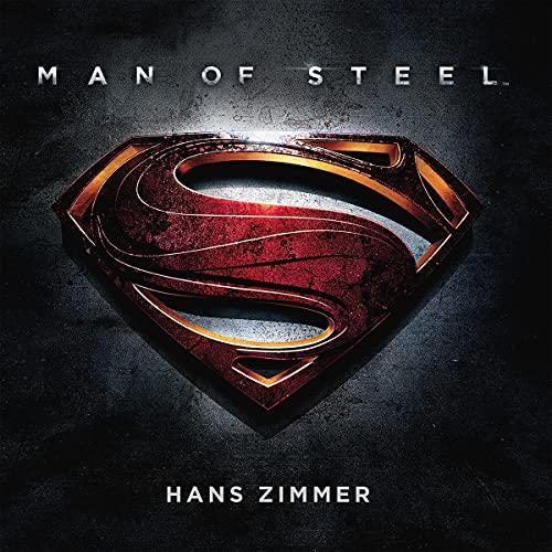 Man of Steel/Vinyle Bleu Transparent Audiophile 180gr/Pochette Gatefold
