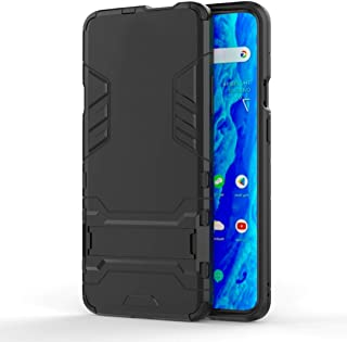 Minwu Case for RealmeX3SuperZoom, with Ring Holder Kickstand, Full Body Protective Silicone TPU Gel Personalised Shockpr...