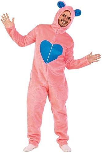 Limit Sport Mon Ourson Peluche Costume Fun Pour Hommes Parfait Pour EnterreHommest de Vie de Garçon 1 Pièce Combinaison Rose